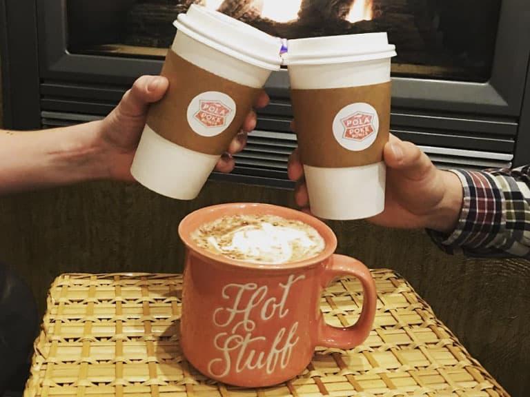 Hot Stuff Coming Through - Coffee at Pola Poke